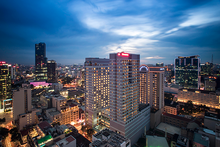 Sheraton Saigon Hotel & Towers  building